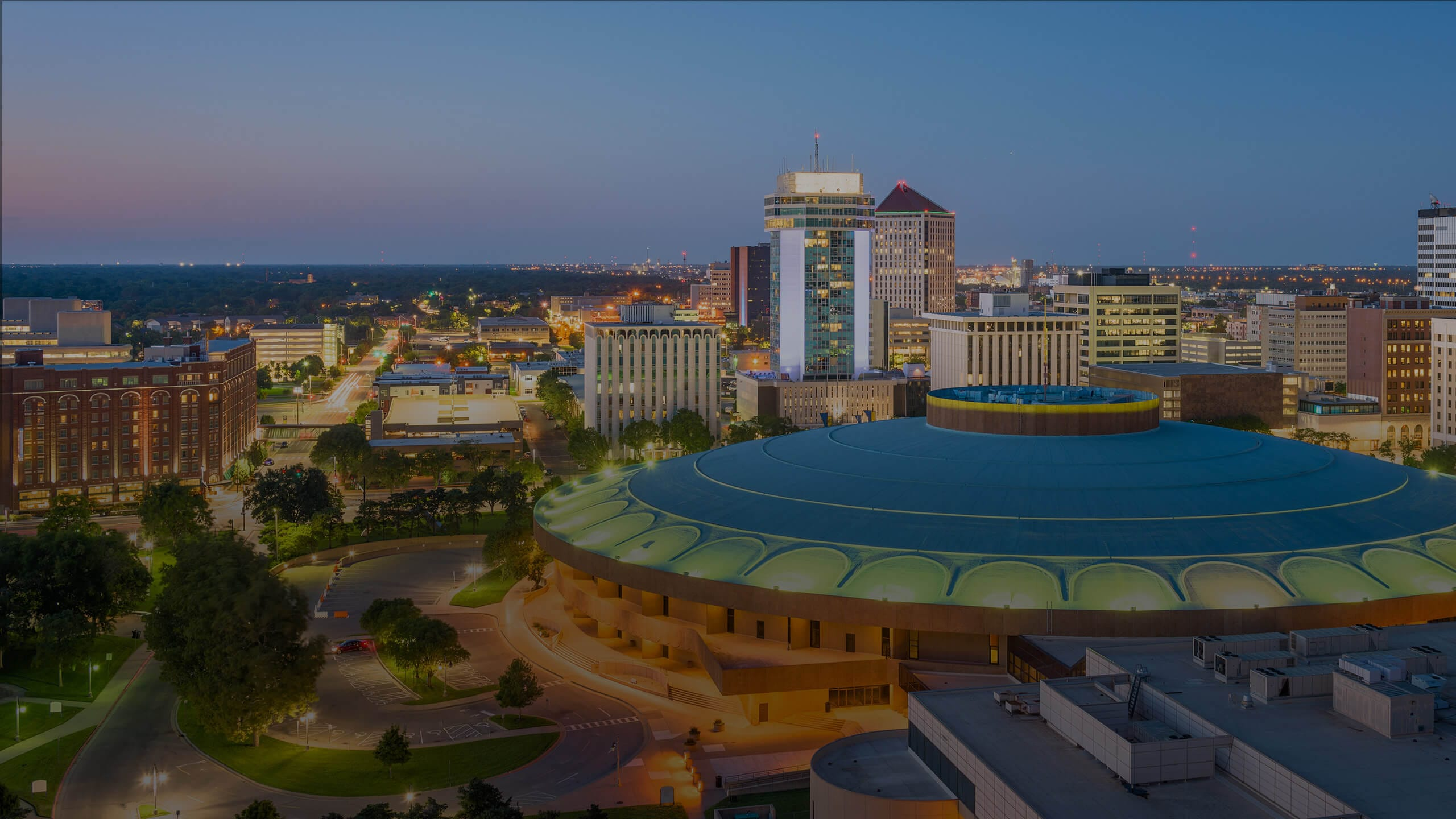image of Wichita downtown skyline